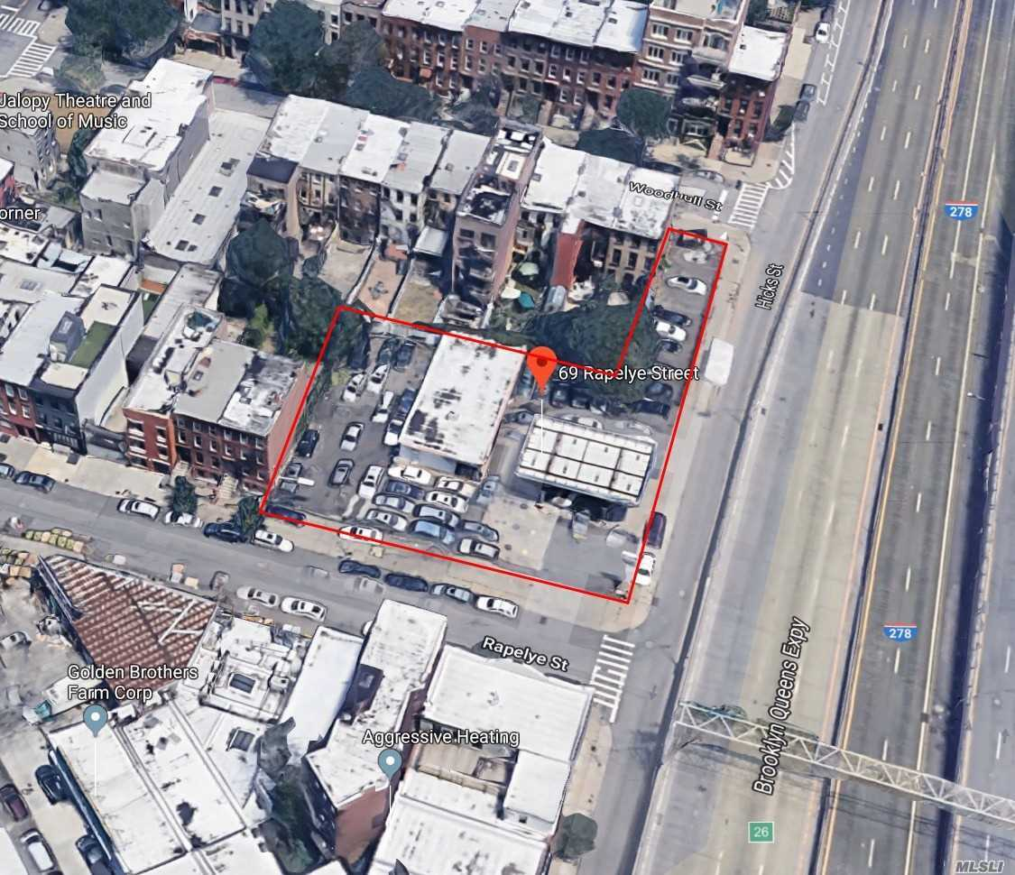 Commercial For Sale Brooklyn, NY 69 Rapelye