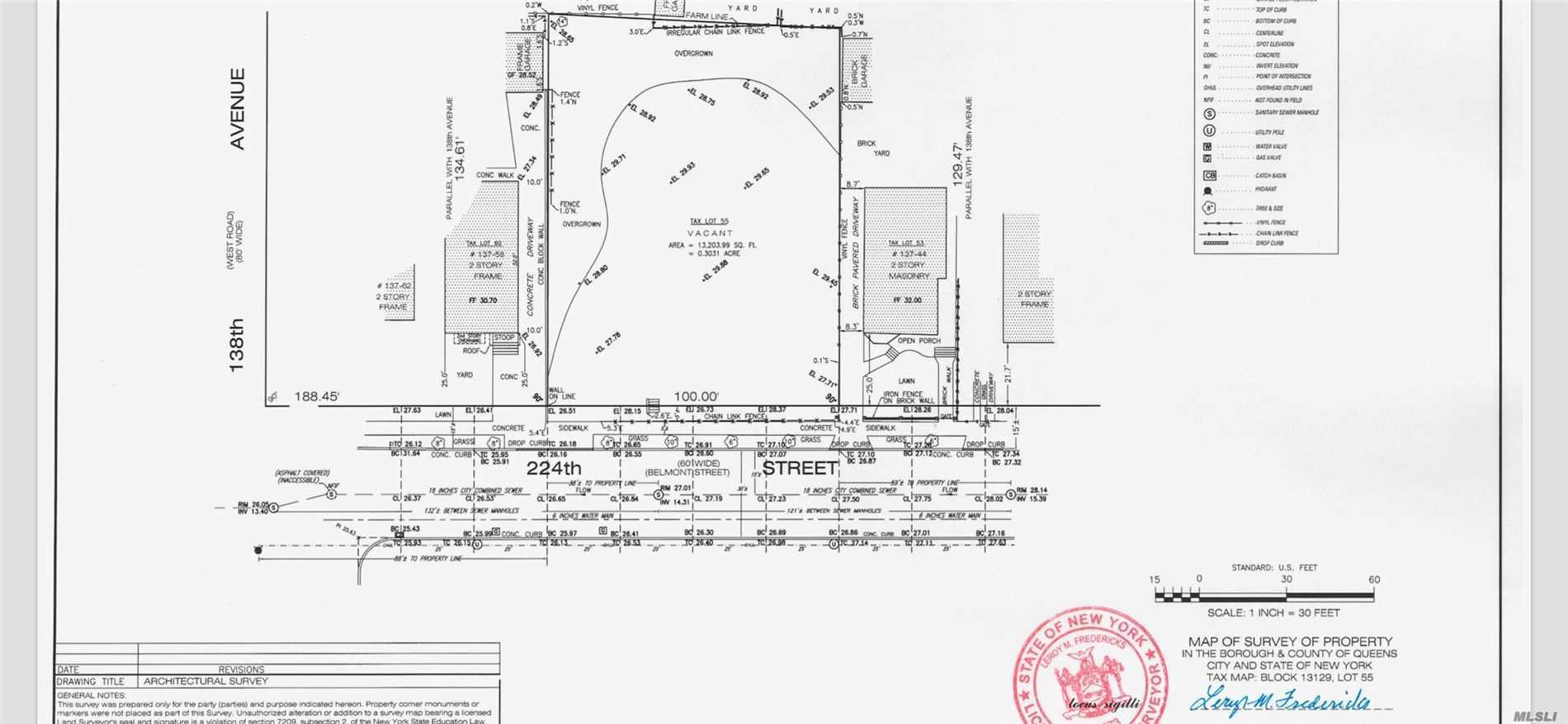 Land for sale in 137-48 224th St, Laurelton, NY ,11413