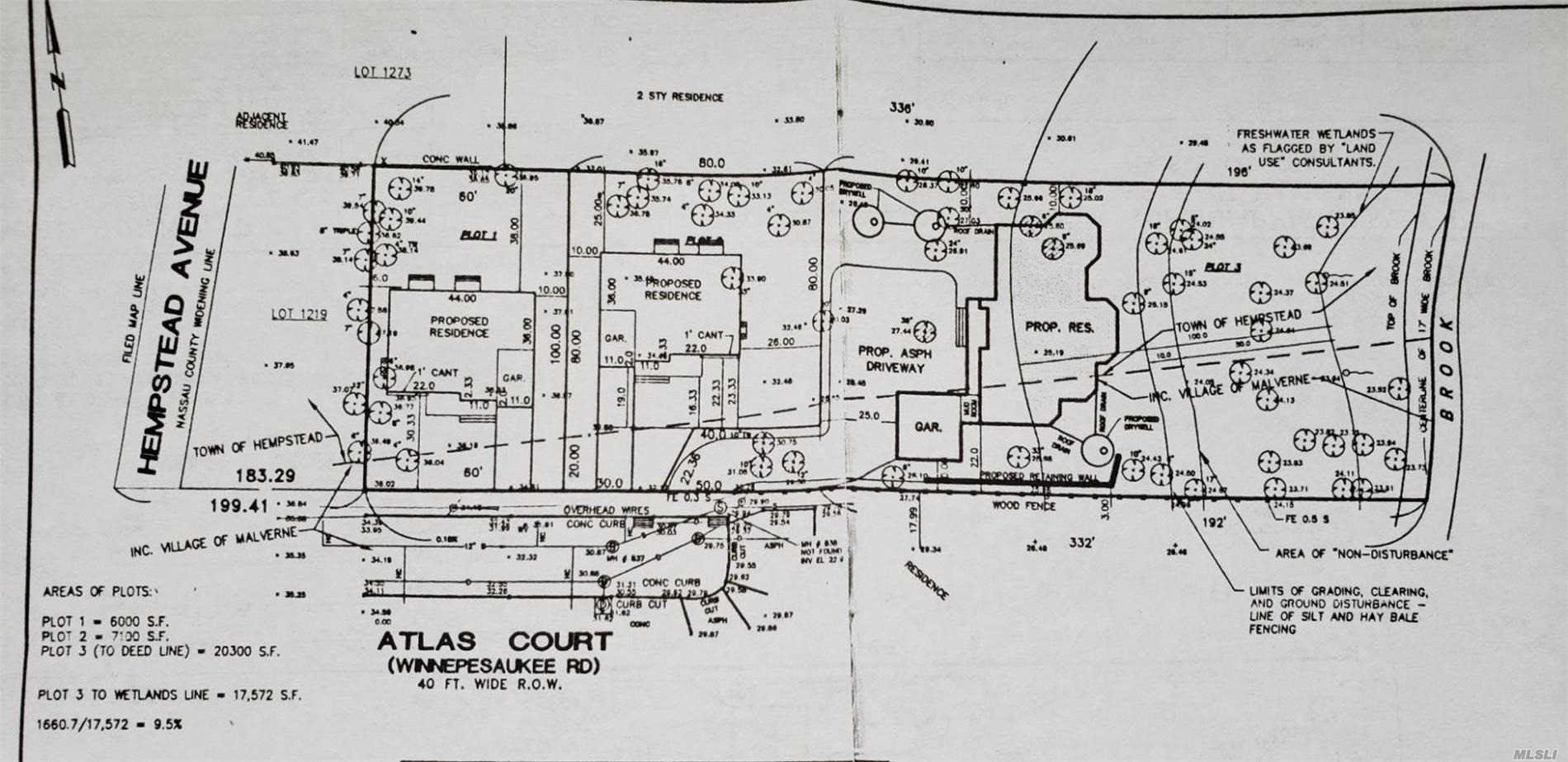 Land for sale in 7 Atlas Ct, Malverne, NY ,11565
