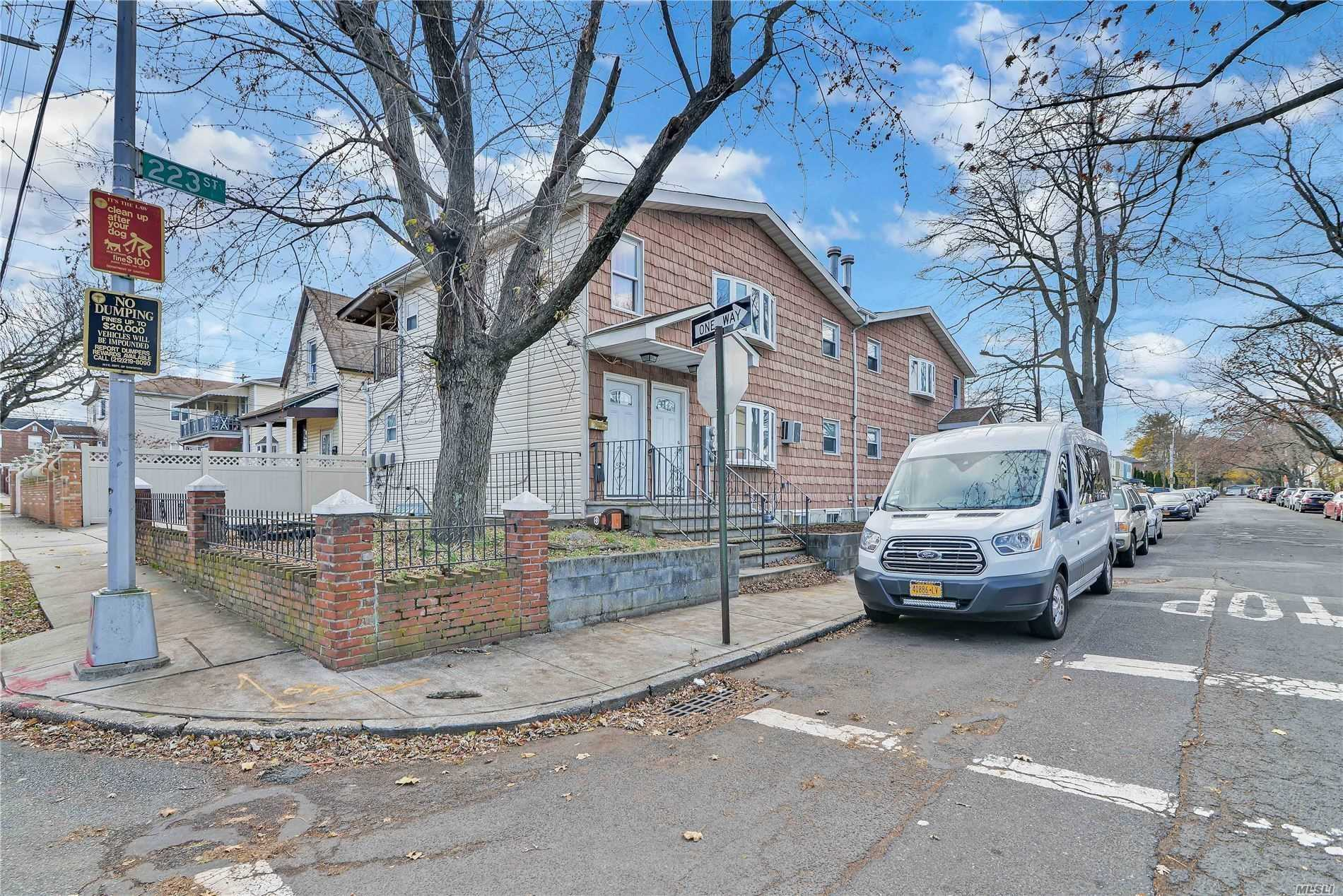 Residential For Sale in 135-03 223rd St, Laurelton, NY ,11413