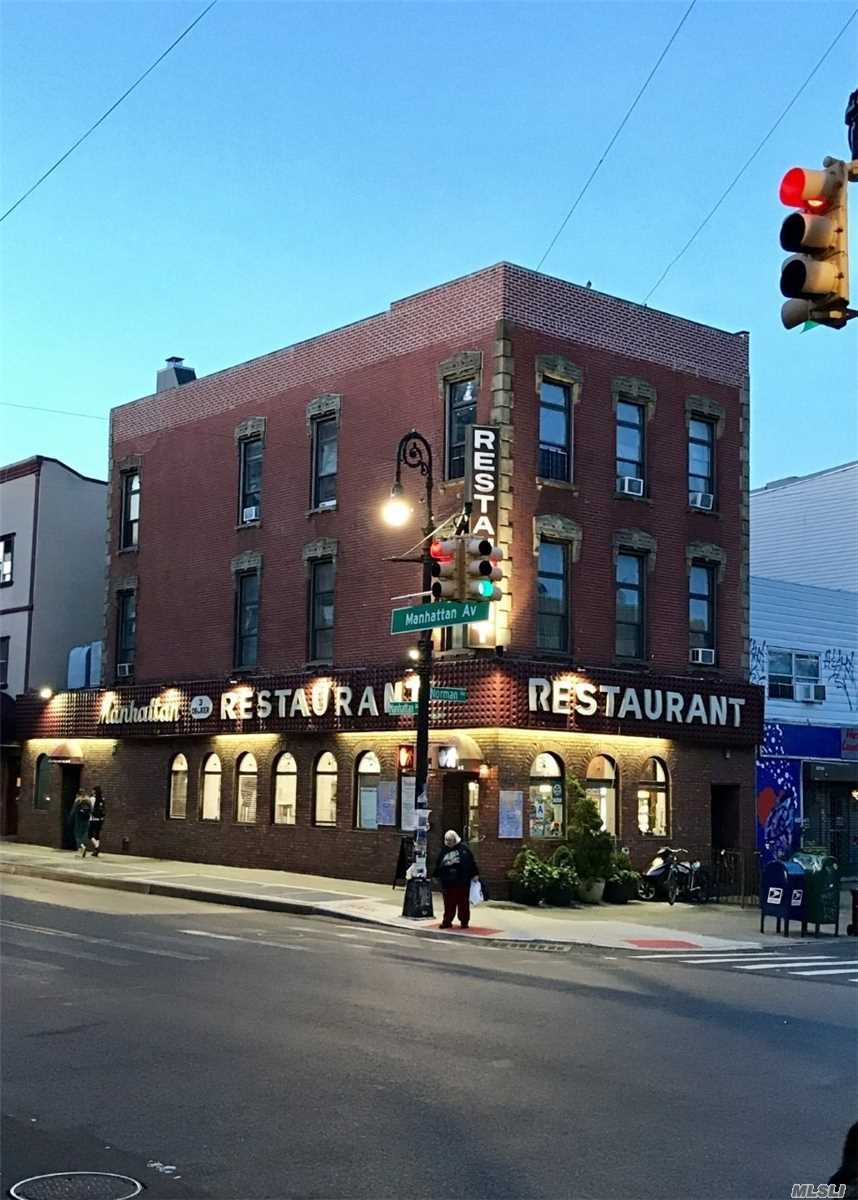 Commercial for sale in 695 Manhattan Ave, Brooklyn, NY ,11222