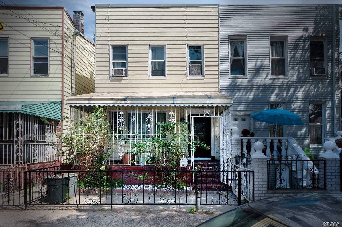 Residential For Sale in 43 Essex St, Brooklyn, NY ,11208