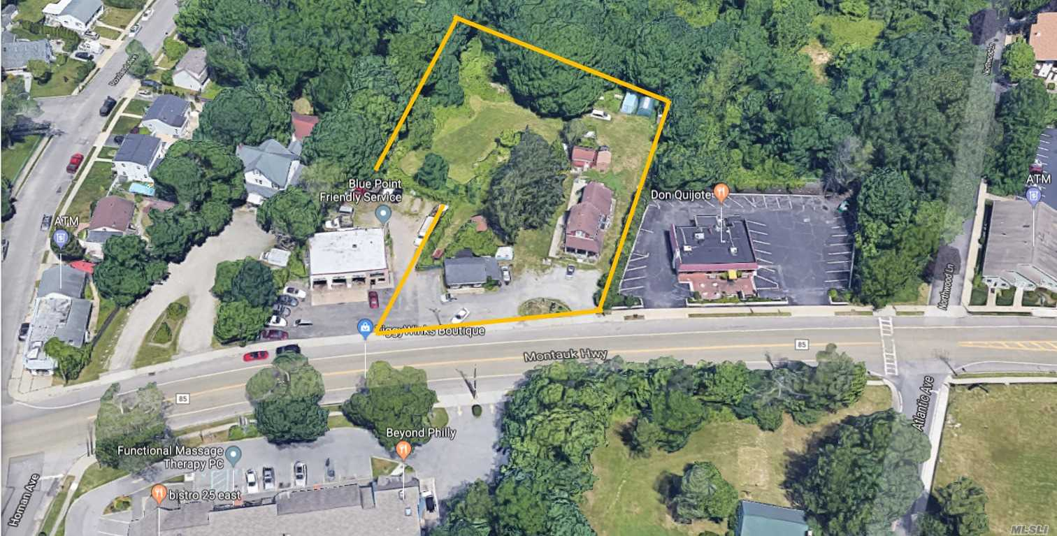 Commercial for sale in 173 Montauk Hwy, Blue Point, NY ,11715
