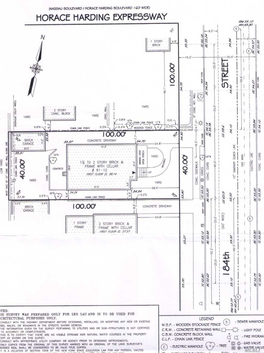 Land for sale in 61-12 184 St, Fresh Meadows, NY ,11365