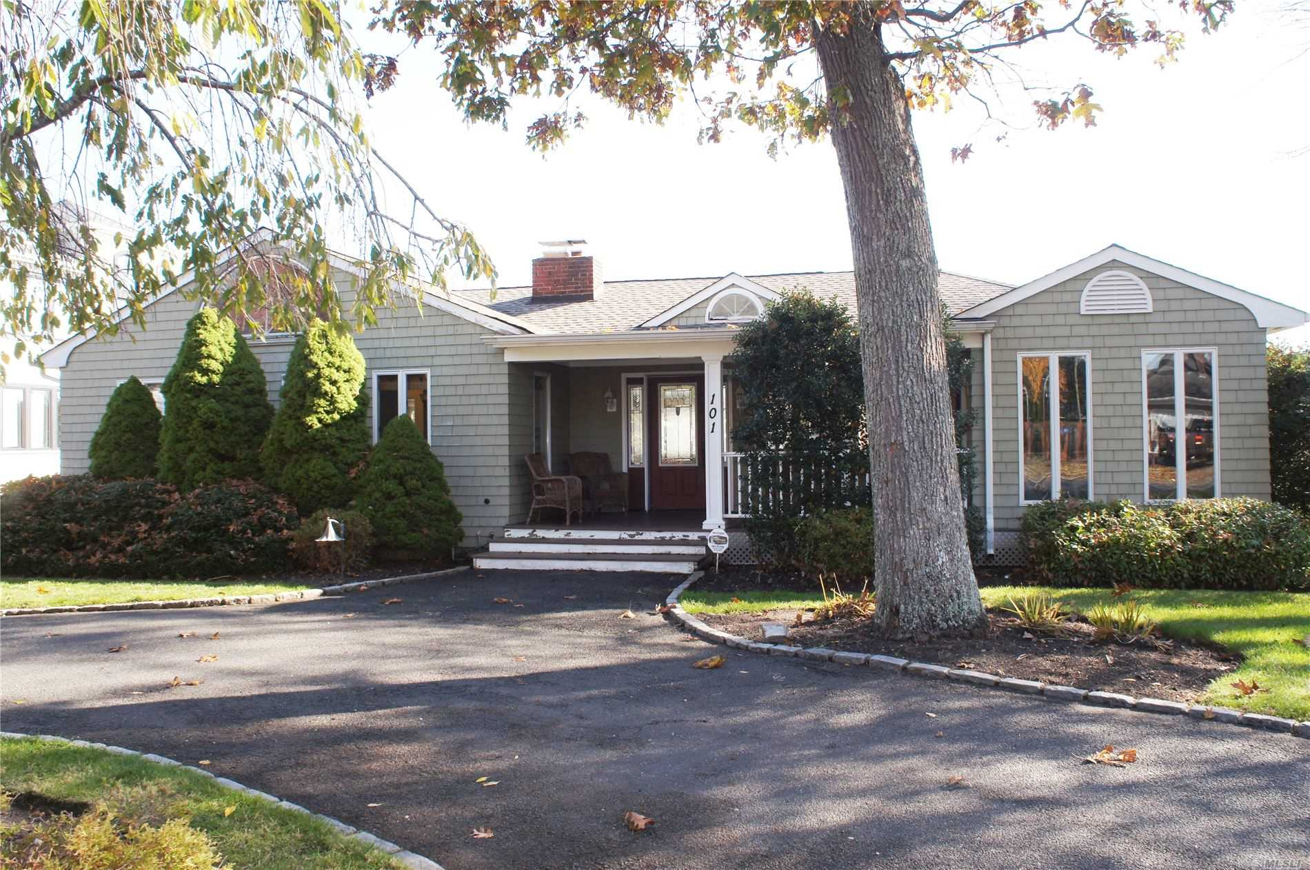 Residential For Sale in 101 Hewitt Blvd, Center Moriches, NY ,11934