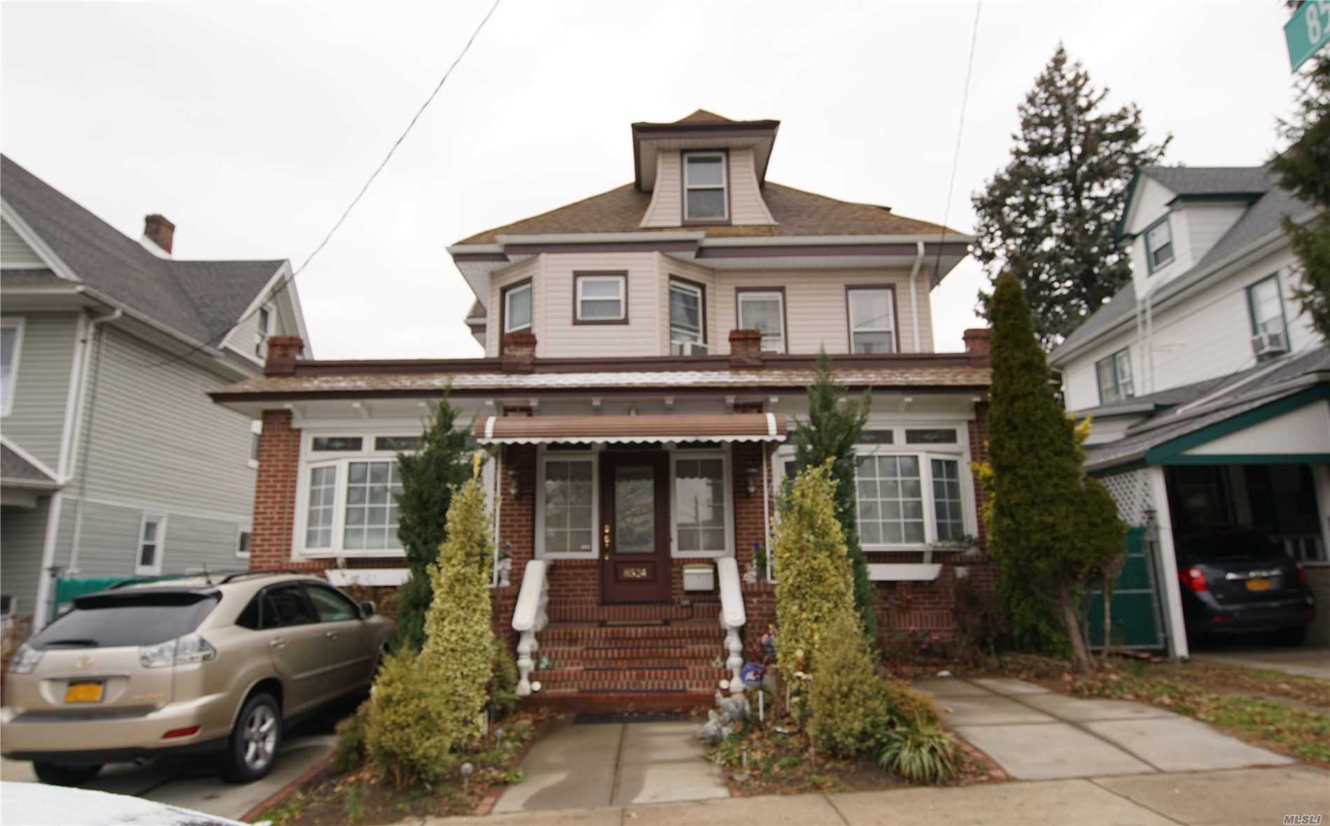 Residential For Sale in 85-24 Forest Pkwy, Woodhaven, NY ,11421
