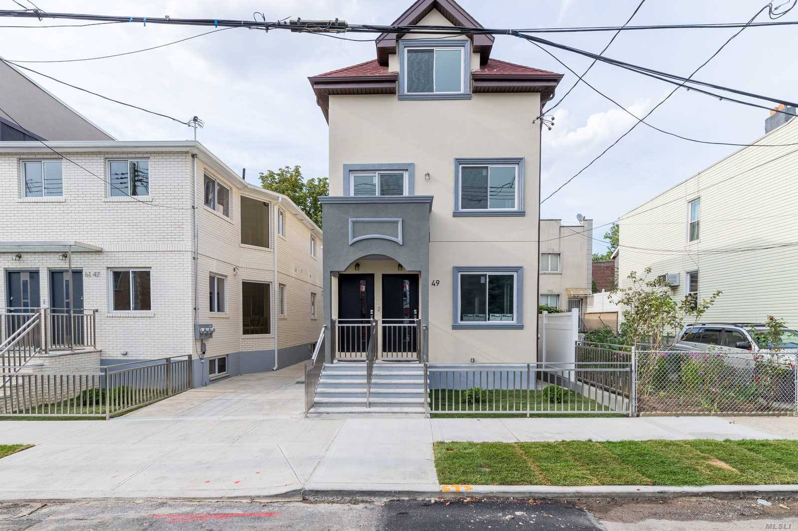 Residential For Sale in 61-49 56th Ave, Maspeth, NY ,11378
