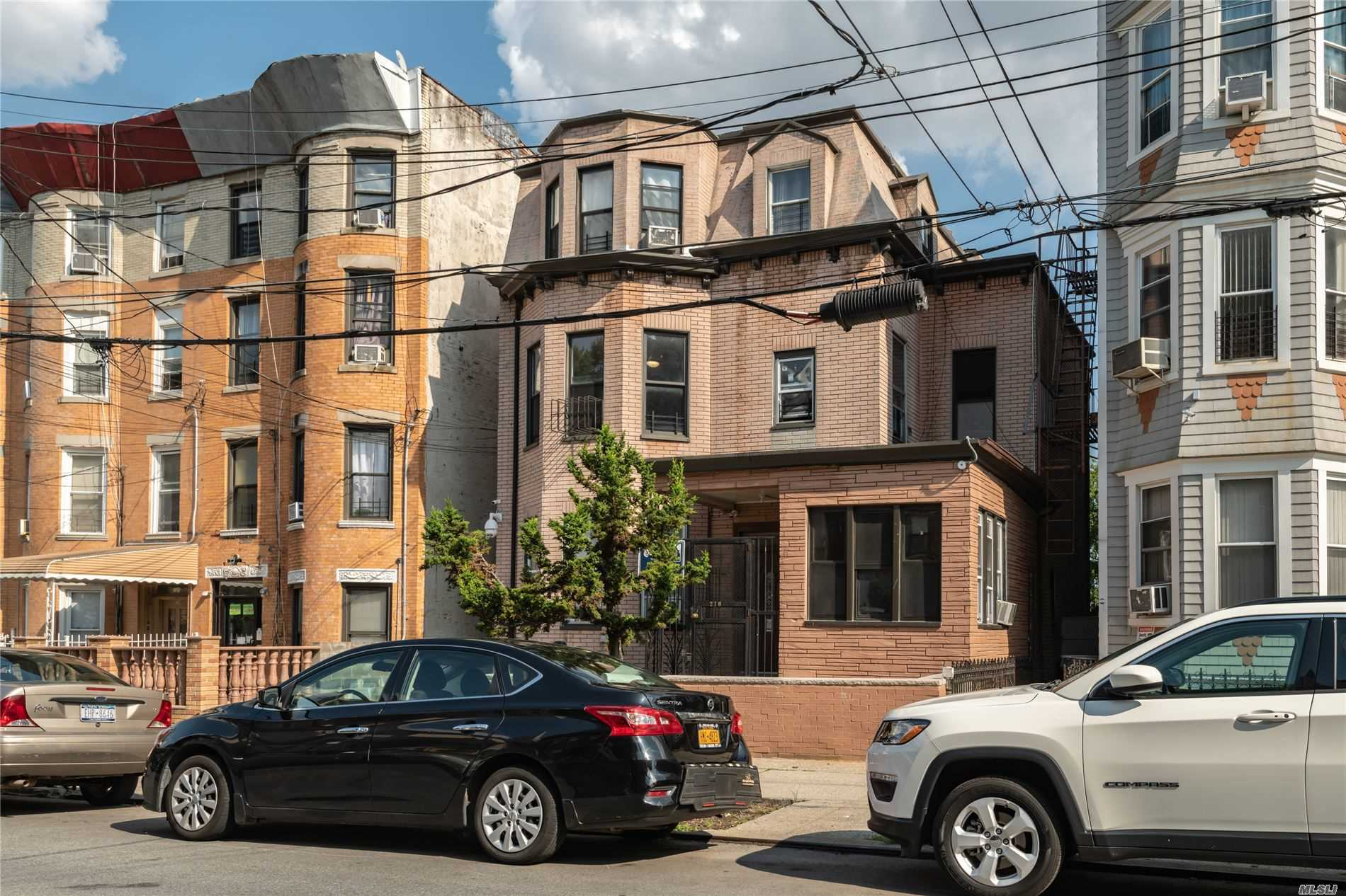 Residential For Sale in 210 Sunnyside Ave, Brooklyn, NY ,11207