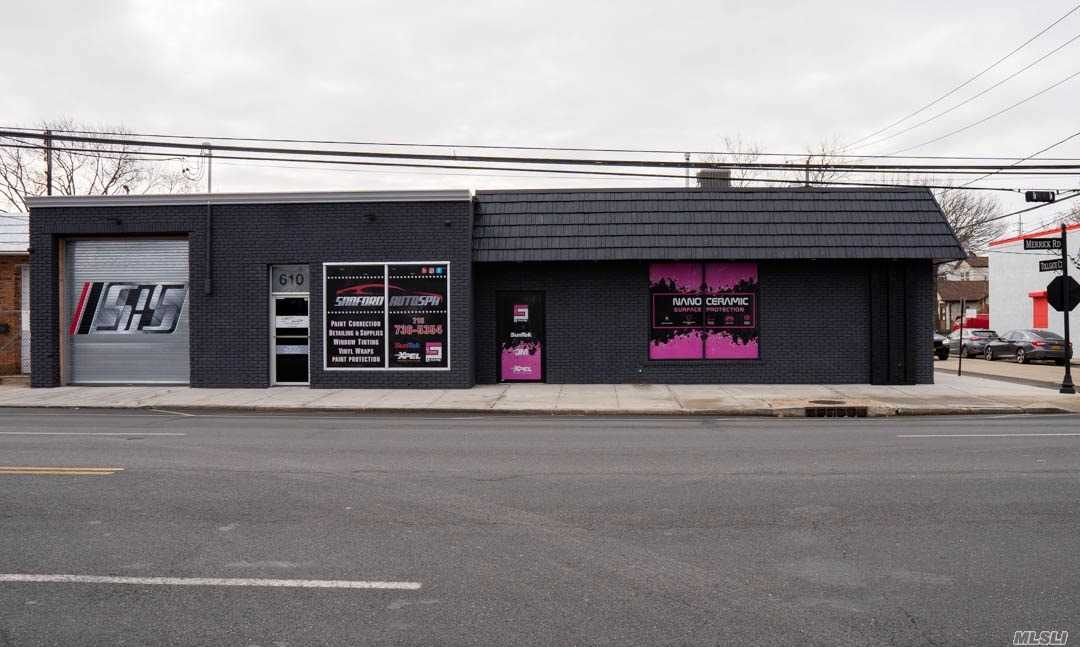 Commercial for sale in 612 Merrick Rd, Lynbrook, NY ,11563