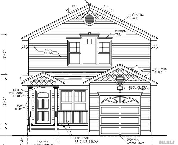 Residential For Sale in Lot # 2/49 Walnut, Coram, NY ,11727