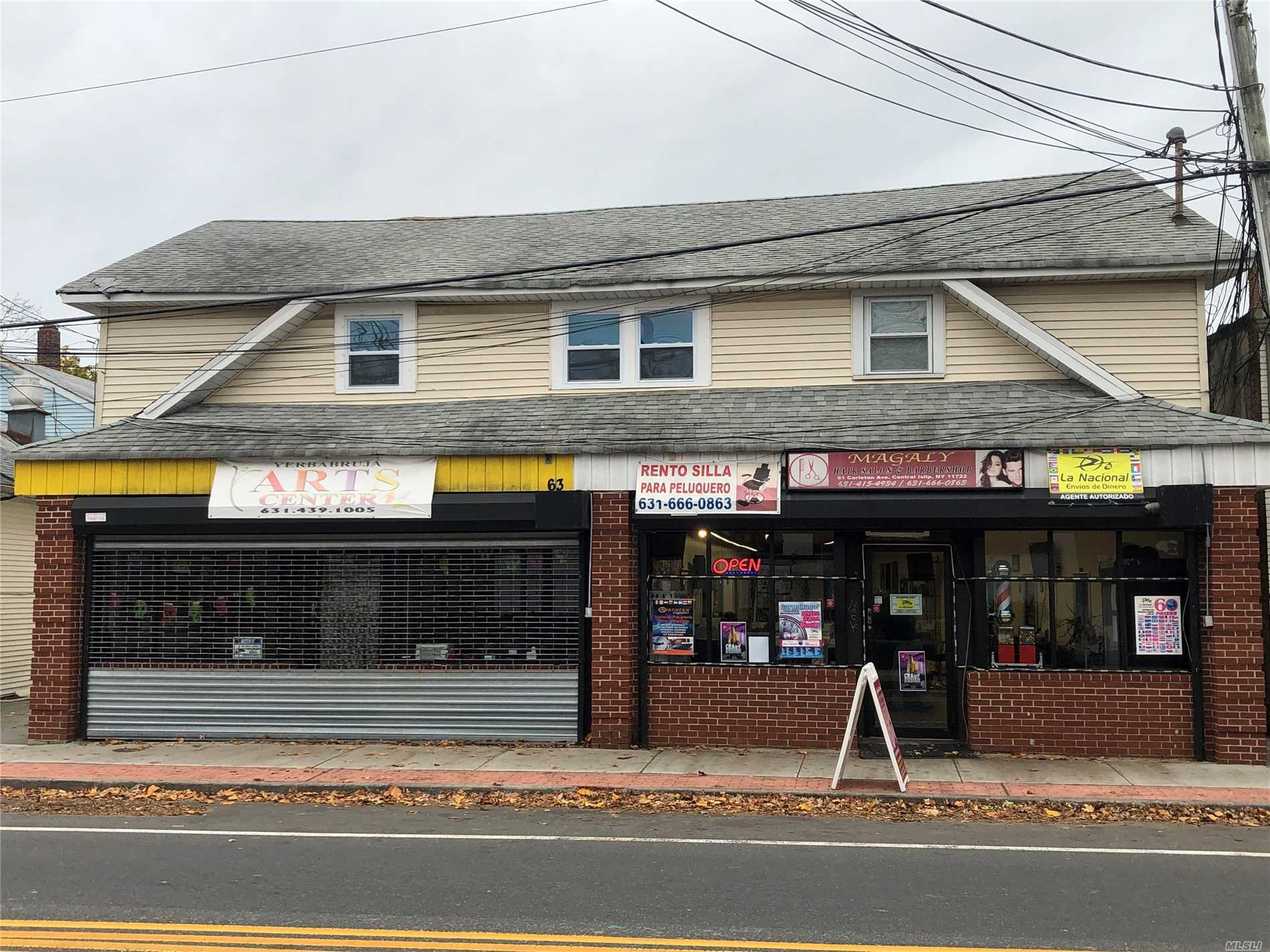 Commercial for sale in 61-63 Carleton Ave, Central Islip, NY ,11722