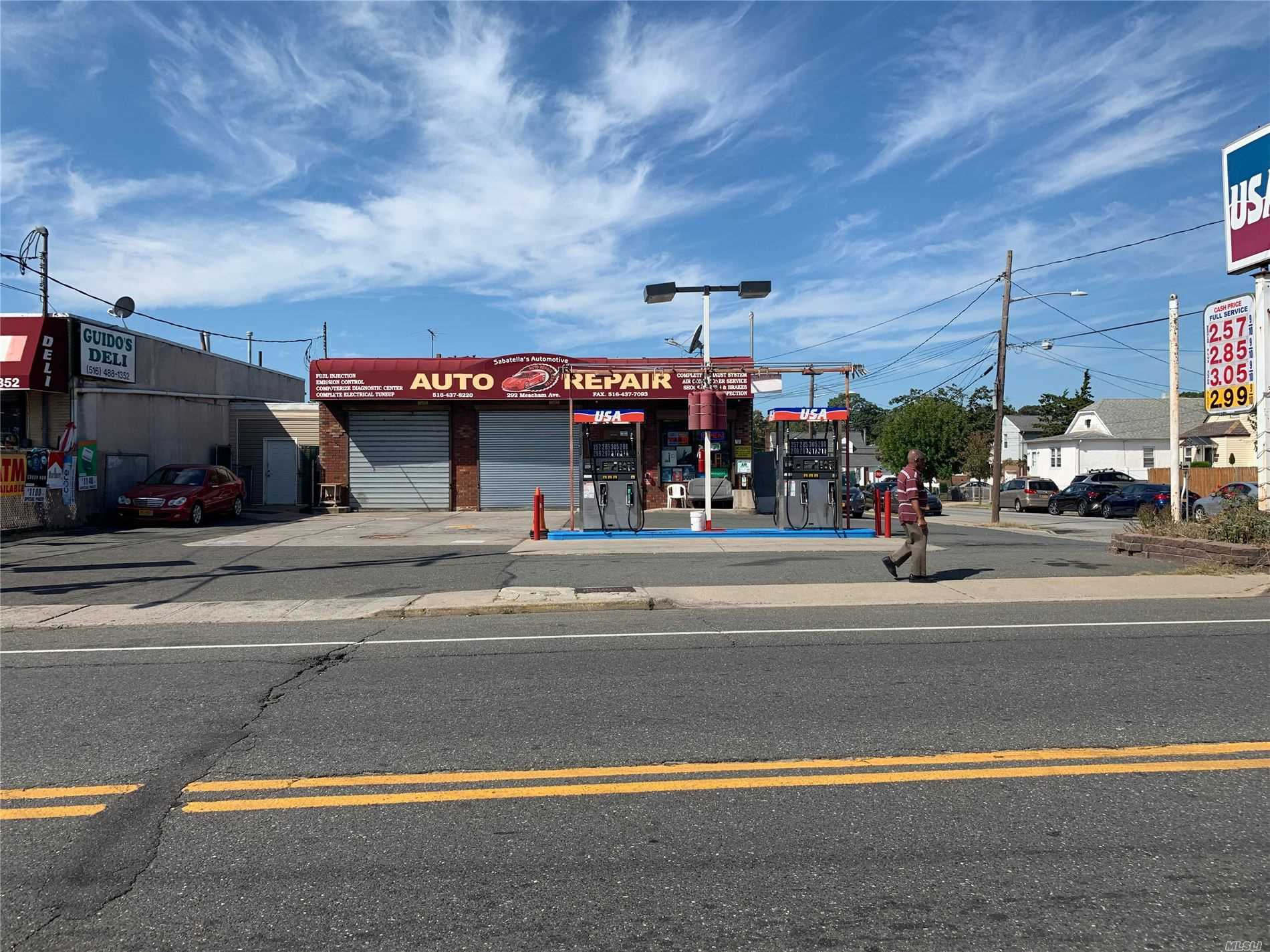 Commercial for sale in 292 Meacham Ave, Elmont, NY ,11003