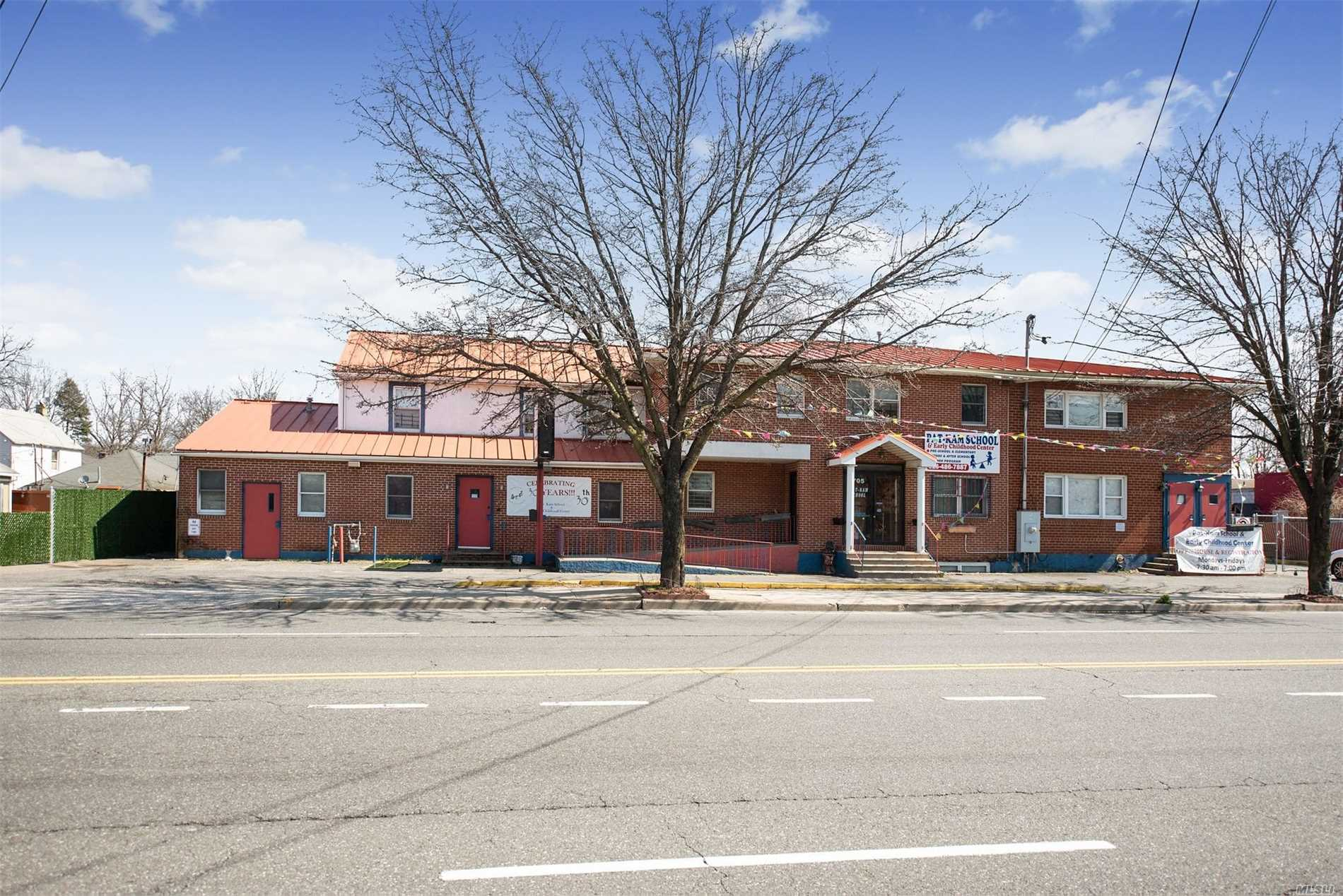 Commercial for sale in 705-707 Nassau Rd, Uniondale, NY ,11553