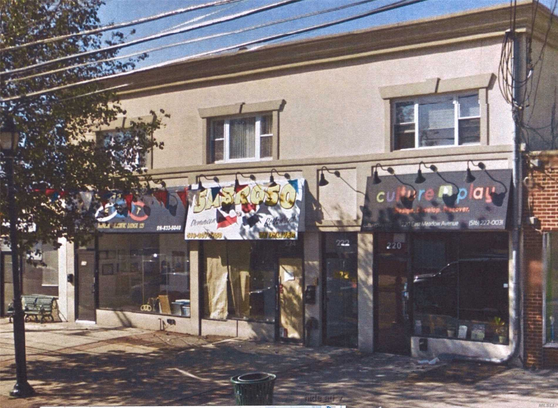 Commercial for sale in 220-226 East Meadow Ave, East Meadow, NY ,11554