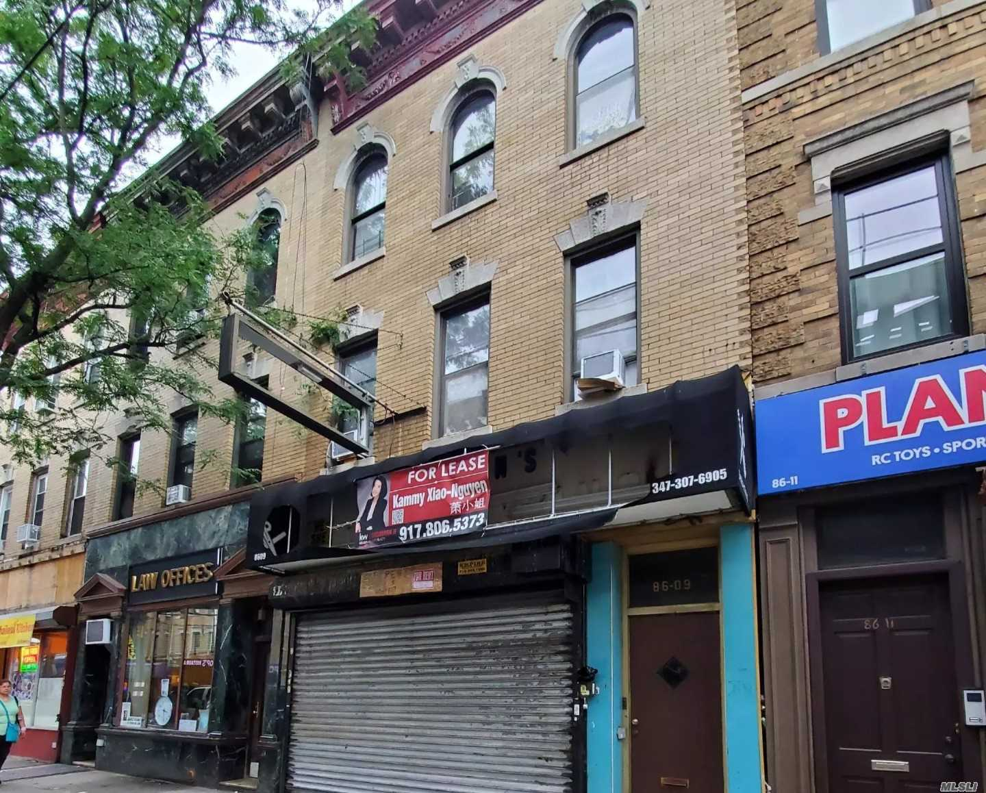 Residential For Sale in 86-09 Jamaica Ave, Woodhaven, NY ,11421