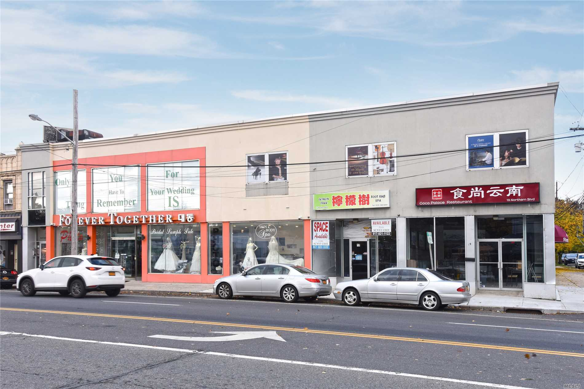 Commercial for sale in 11-19 Northern Blvd, Great Neck, NY ,11021