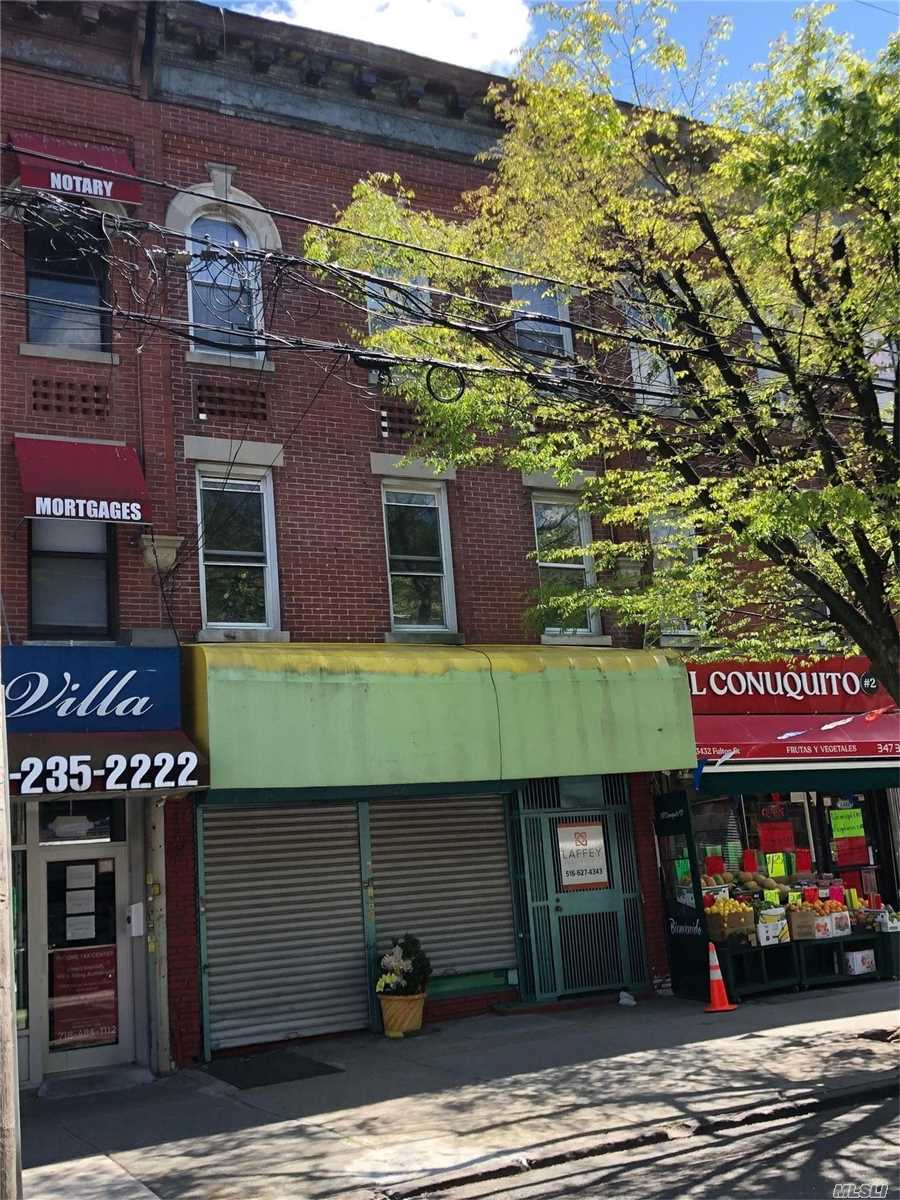 Commercial for sale in 3434 Fulton St, Brooklyn, NY ,11208