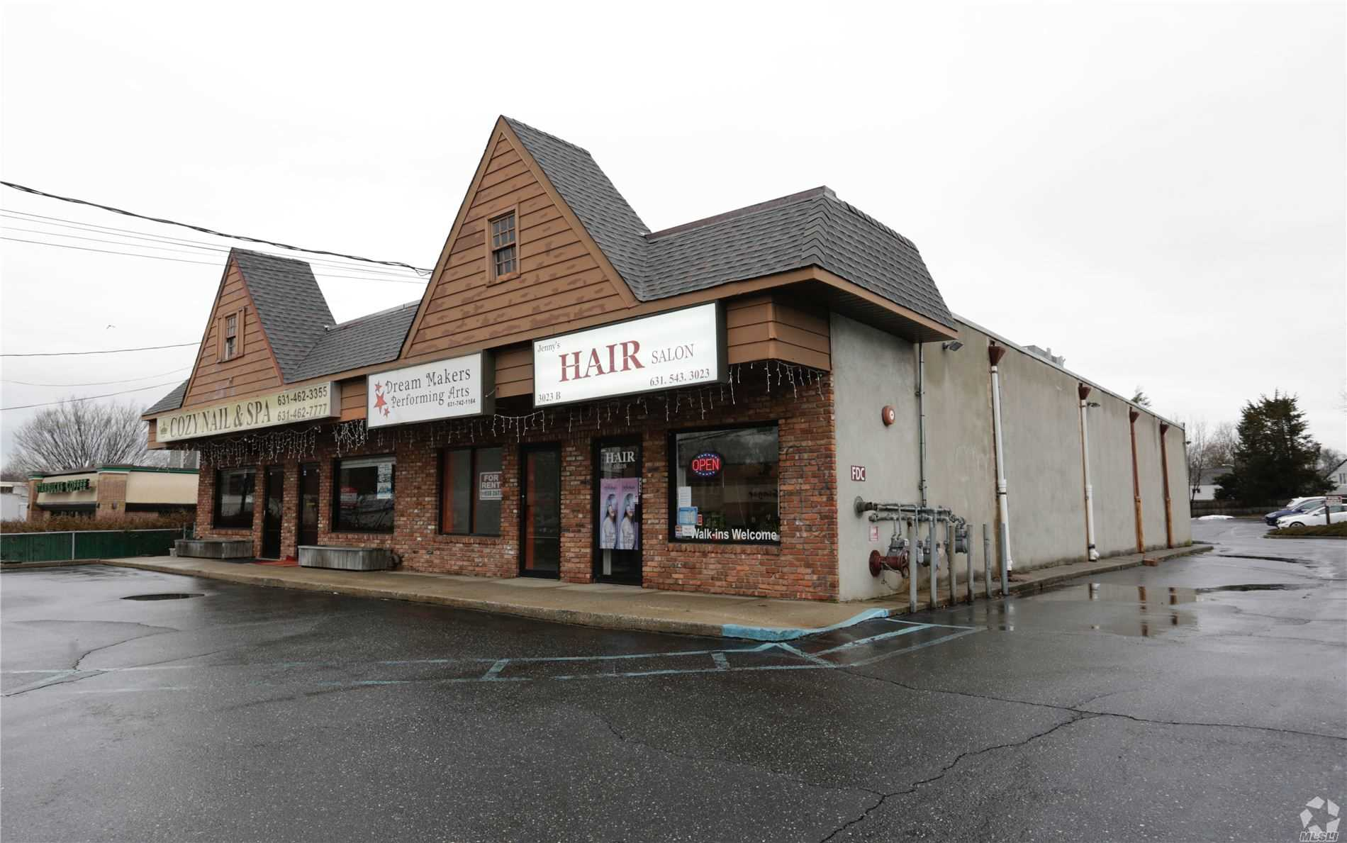 Commercial for sale in 3021 Jericho Tpke, E. Northport, NY ,11731