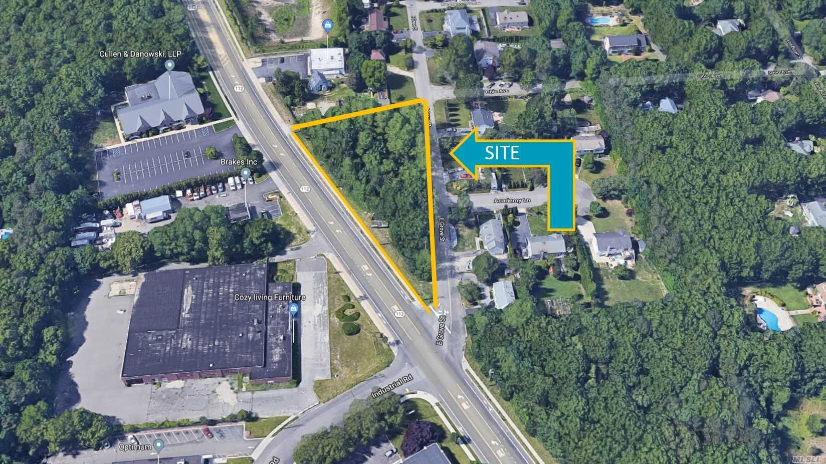 Land for sale in Route 112, Pt.Jefferson Sta, NY ,11776