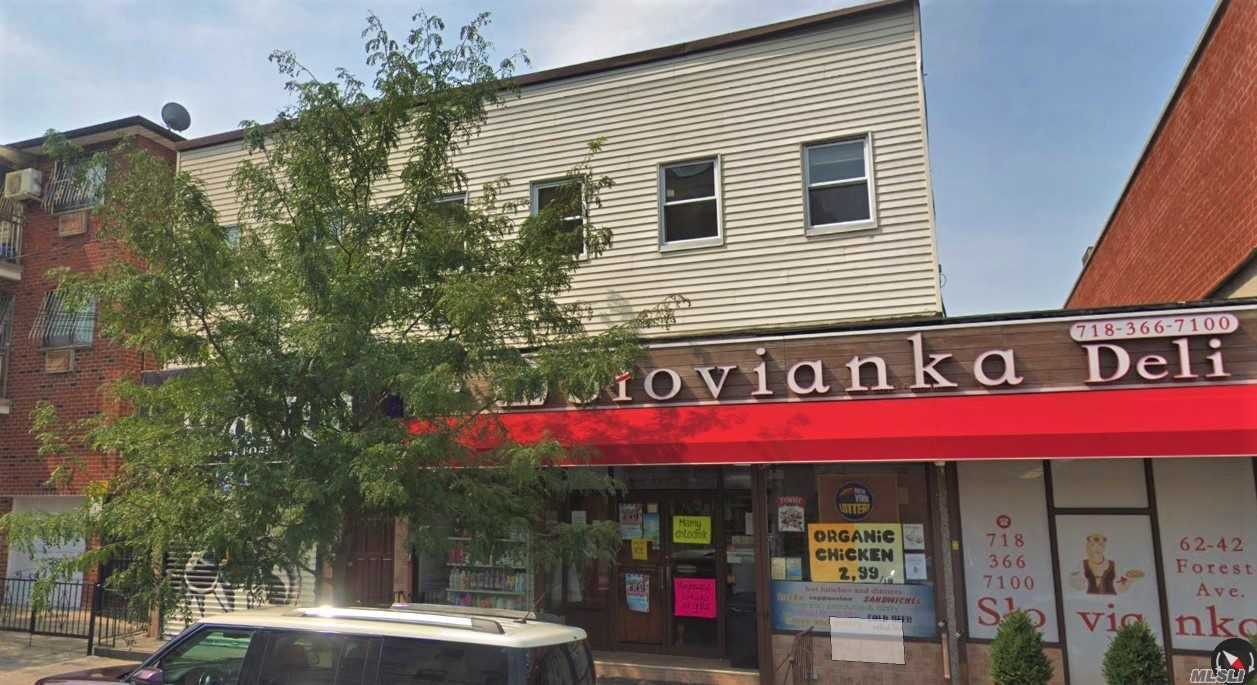 Commercial for sale in 62-42 Forest Ave, Ridgewood, NY ,11385