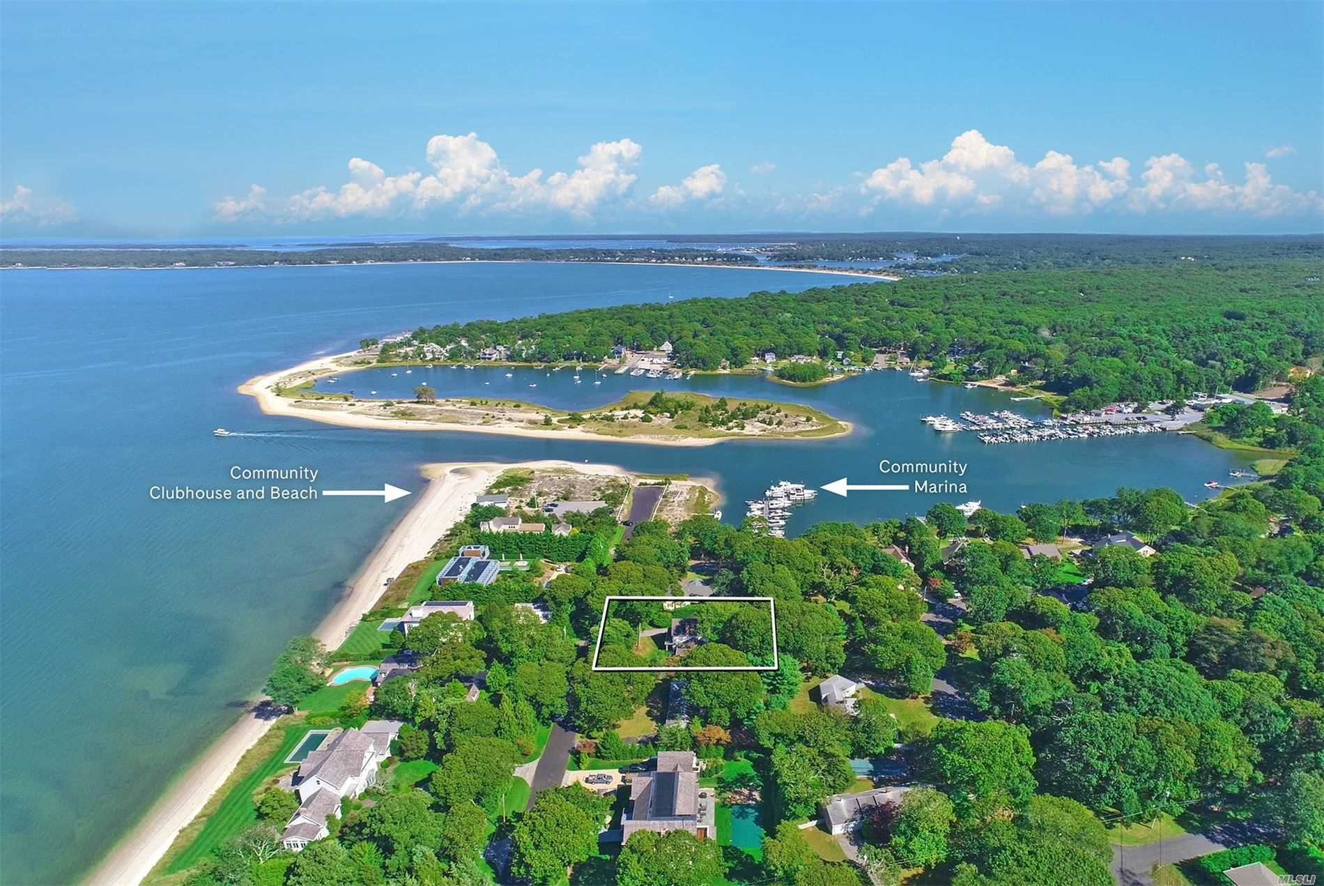 Residential For Sale in 24 Noyac Bay Ave. Avenue, Sag Harbor, NY ,11963