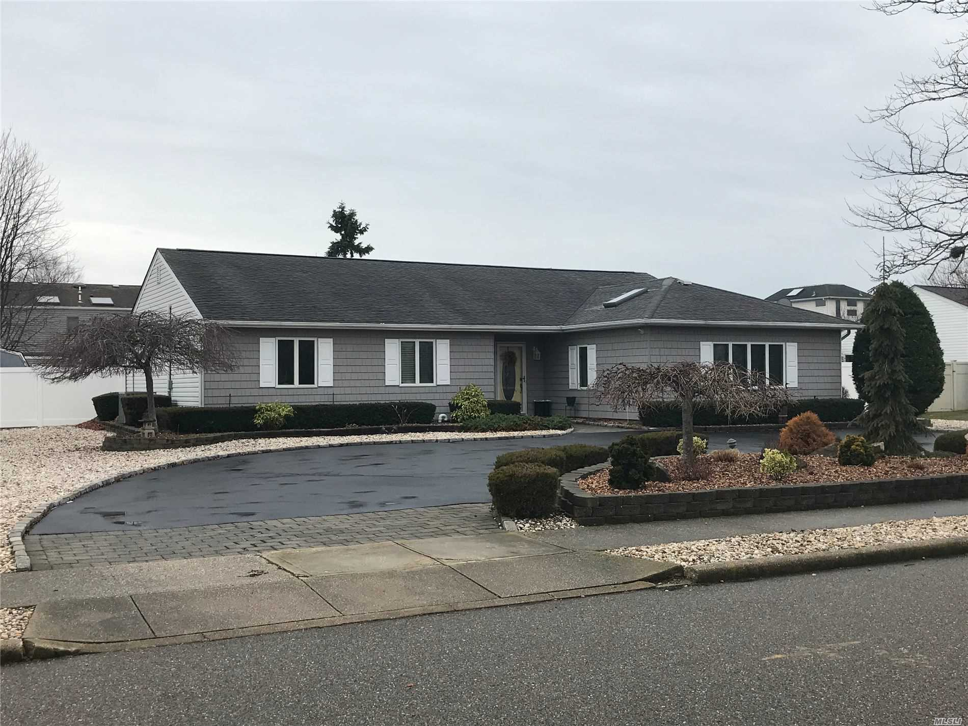 Residential For Sale in 329 Lagoon Drive S, Copiague, NY ,11726