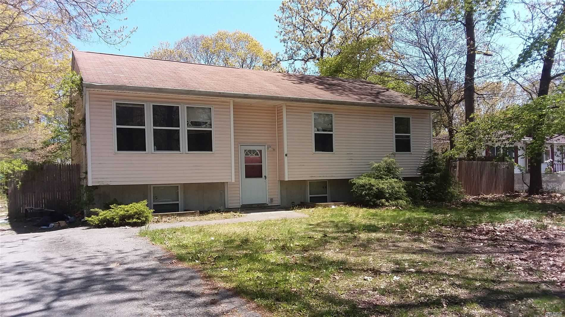 Residential For Sale in 105 Yaphank Road W, Coram, NY ,11727