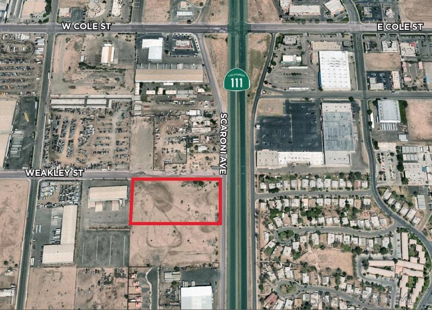 Commercial for sale in 0 Scaroni Rd & Weakley St, Calexico, California ,92231