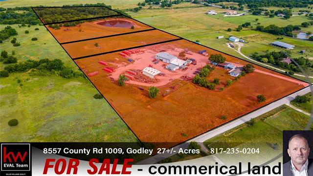 Commercial for sale in 8557 CR 1009, Godley, Texas ,76044