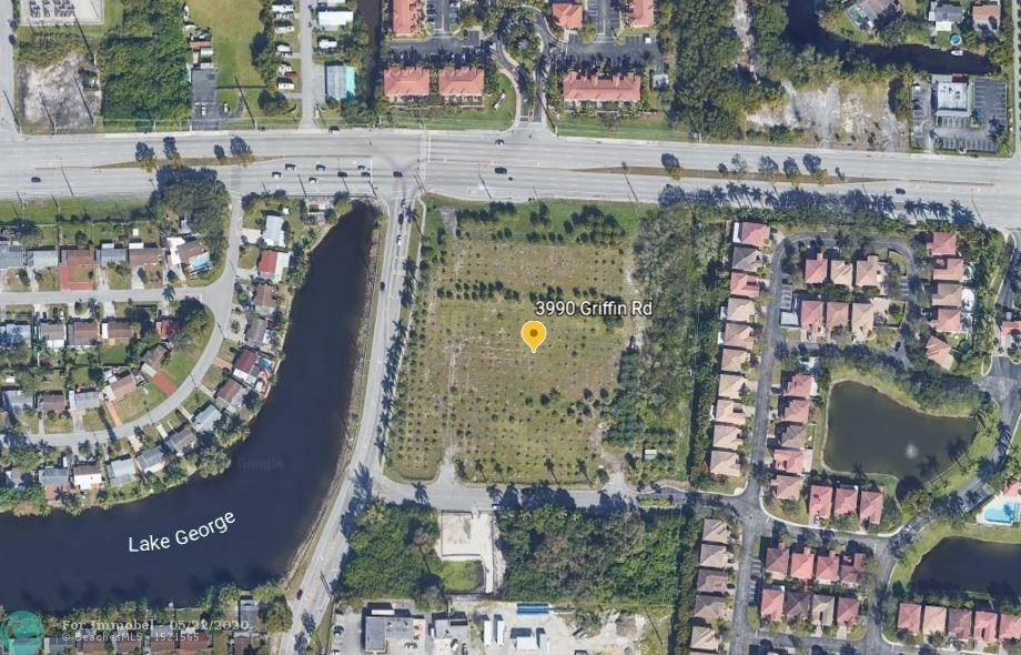 Land for sale in 3990 Griffin Rd, Hollywood, Florida ,33312