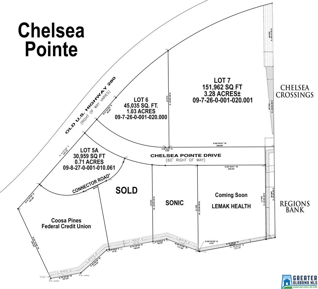 Commercial for sale in 75 Chelsea Pointe Dr, Chelsea, Alabama ,35043