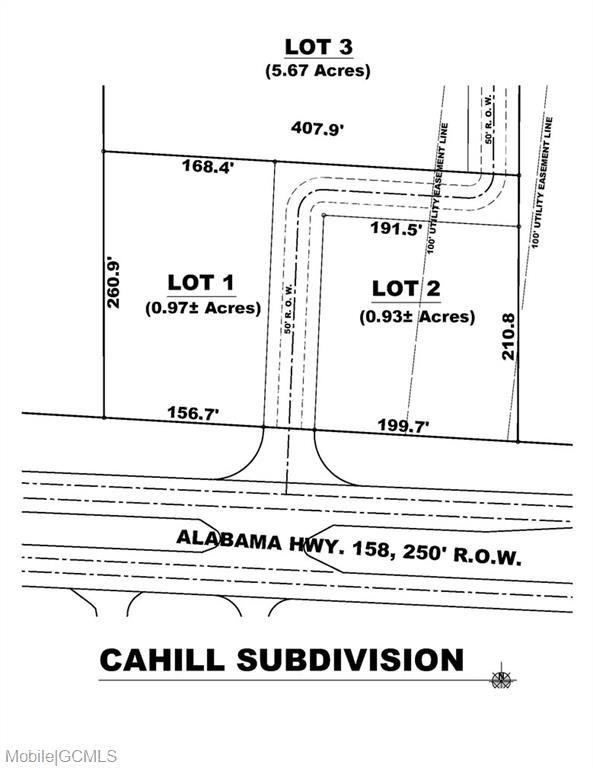 Land for sale in Industrial Parkway, Saraland, Alabama ,36571