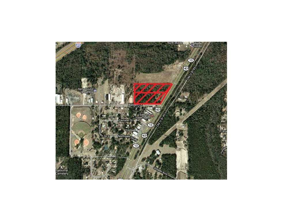 Land for sale in Highway 43, Satsuma, Alabama ,36572