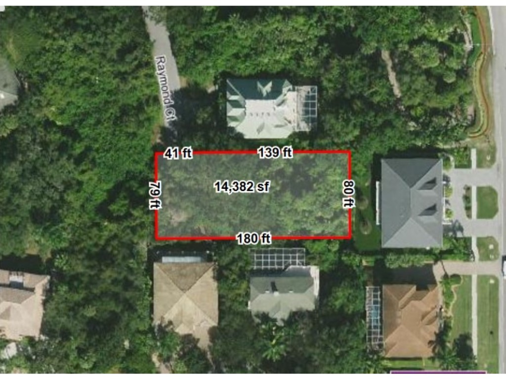 Land for sale in 903 RAYMOND CT, MARCO ISLAND, Florida ,34145