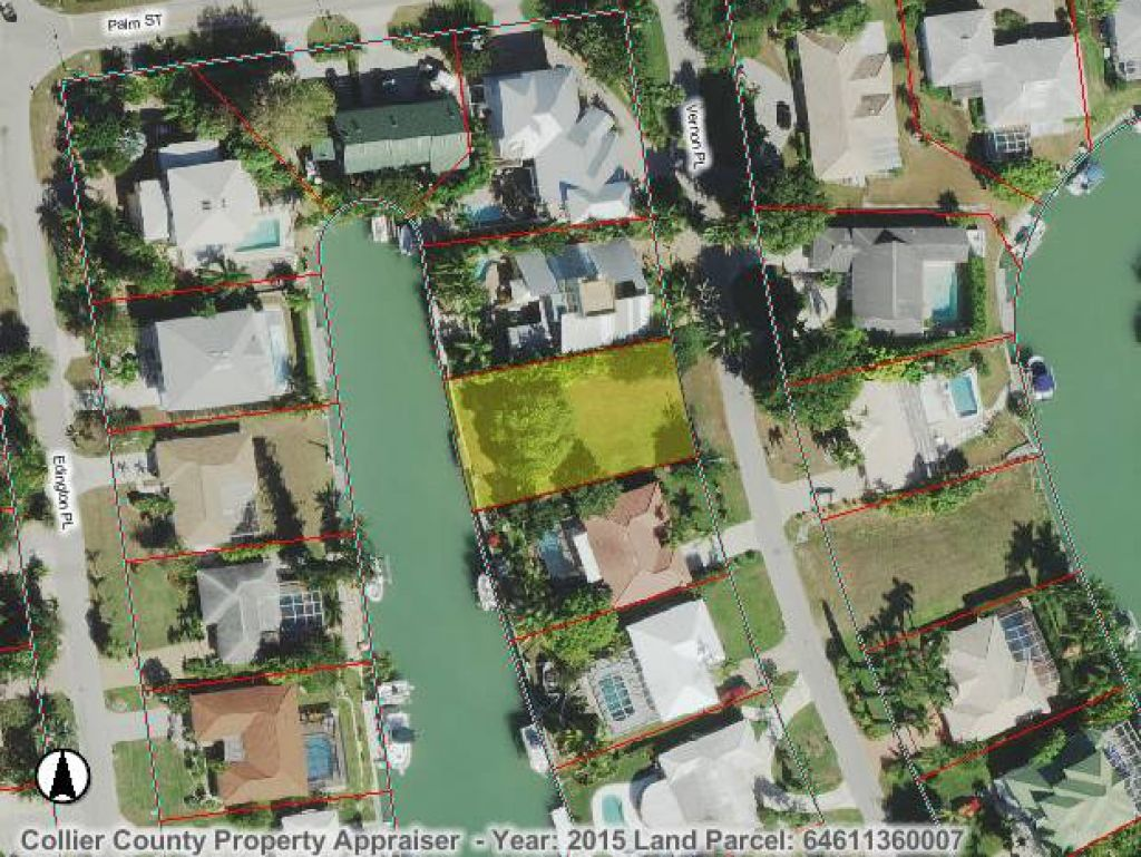 Land for sale in 1150 VERNON PL, MARCO ISLAND, Florida ,34145