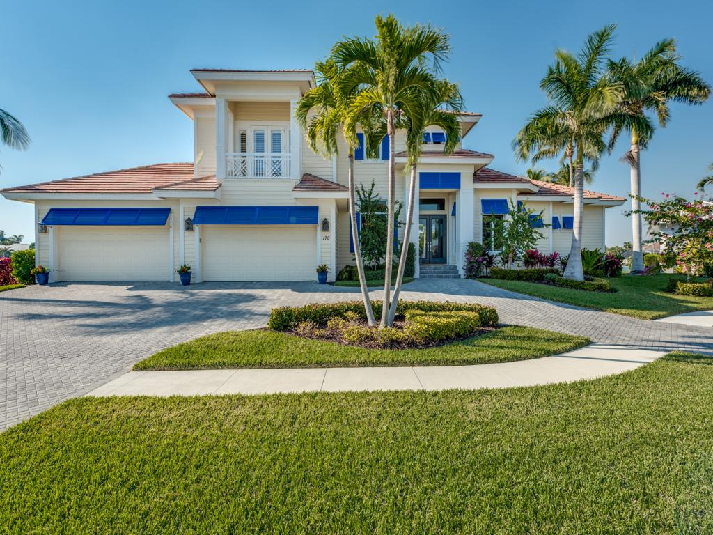 Single Family Home for sale in 170 CHANNEL CT, MARCO ISLAND, Florida ,34145