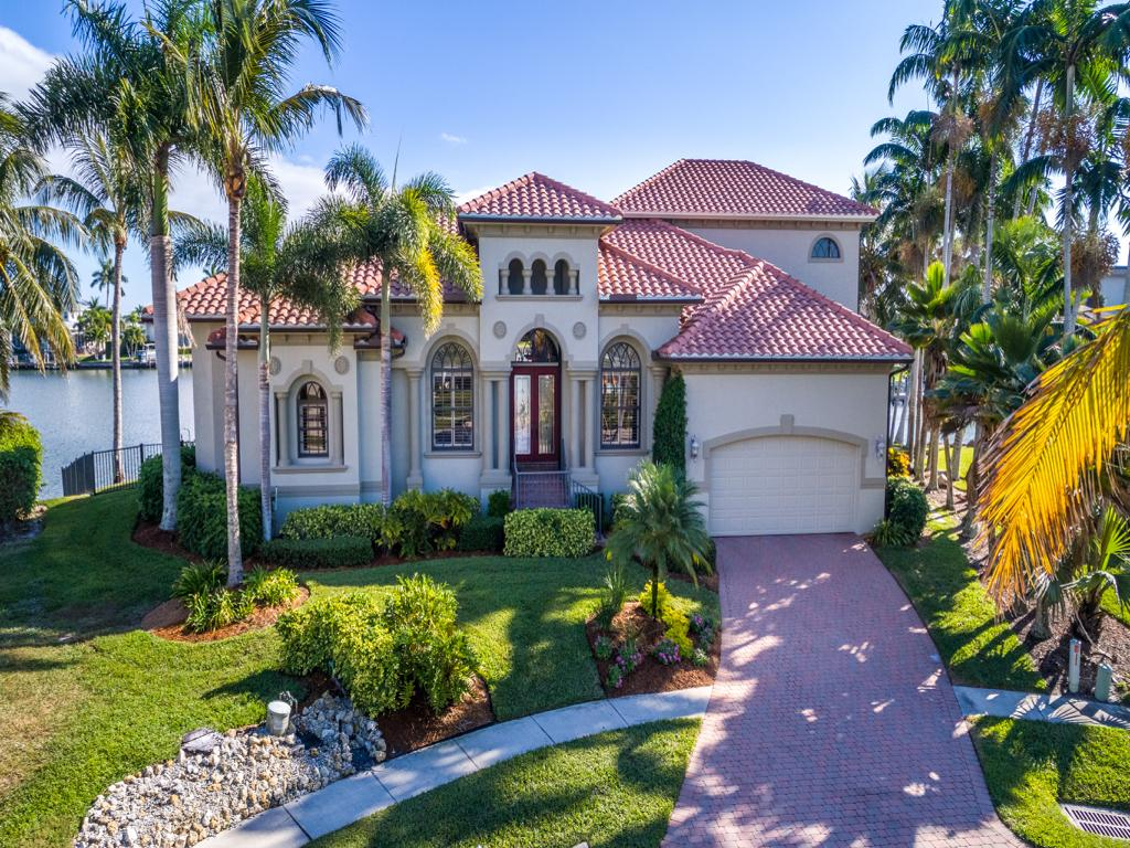 Single Family Home for sale in 411 SPINNAKER DR, MARCO ISLAND, Florida ,34145