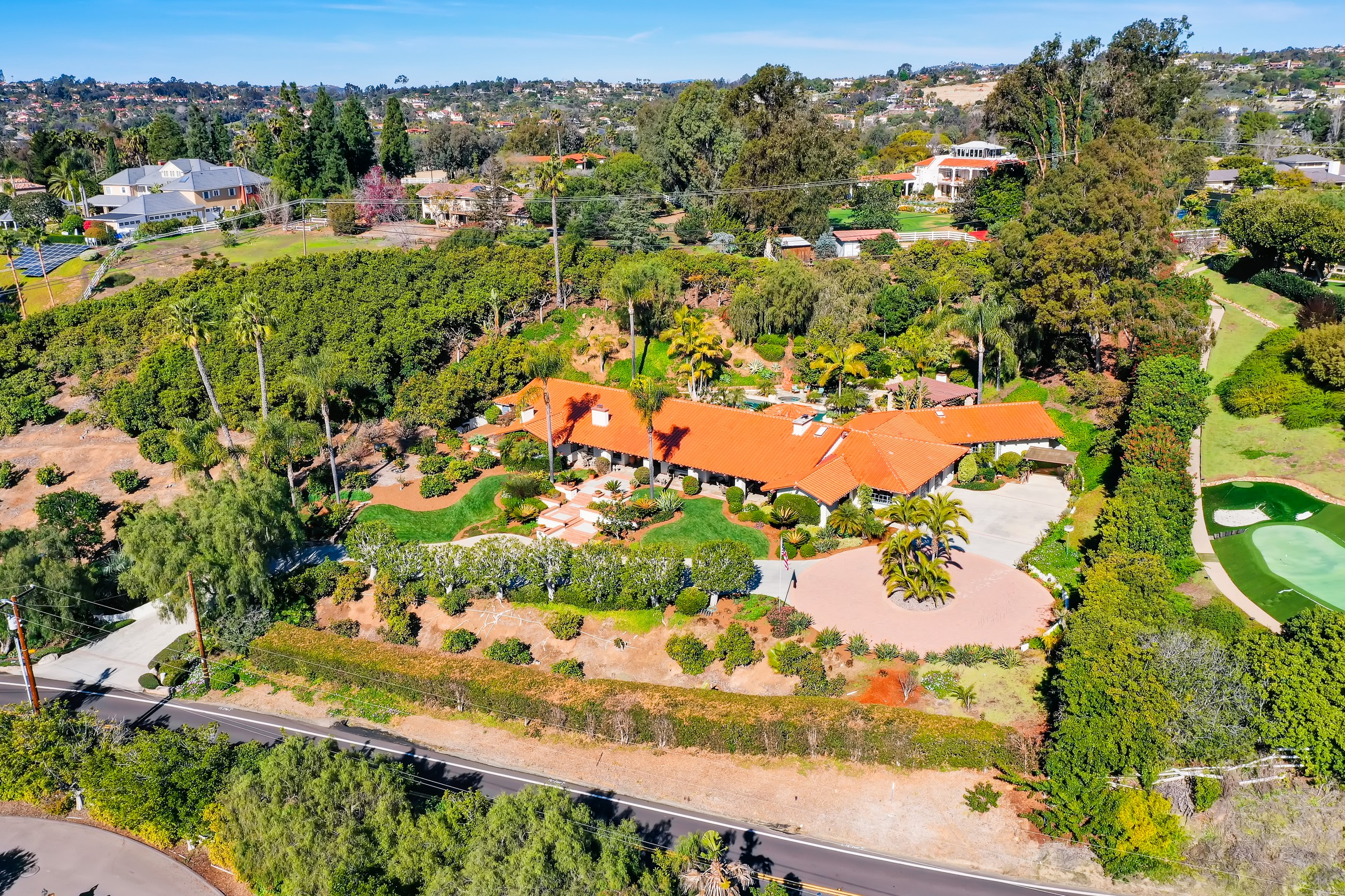 Single Family Home for sale in 5354 El Camino Del Norte, Rancho Santa Fe, California ,92067