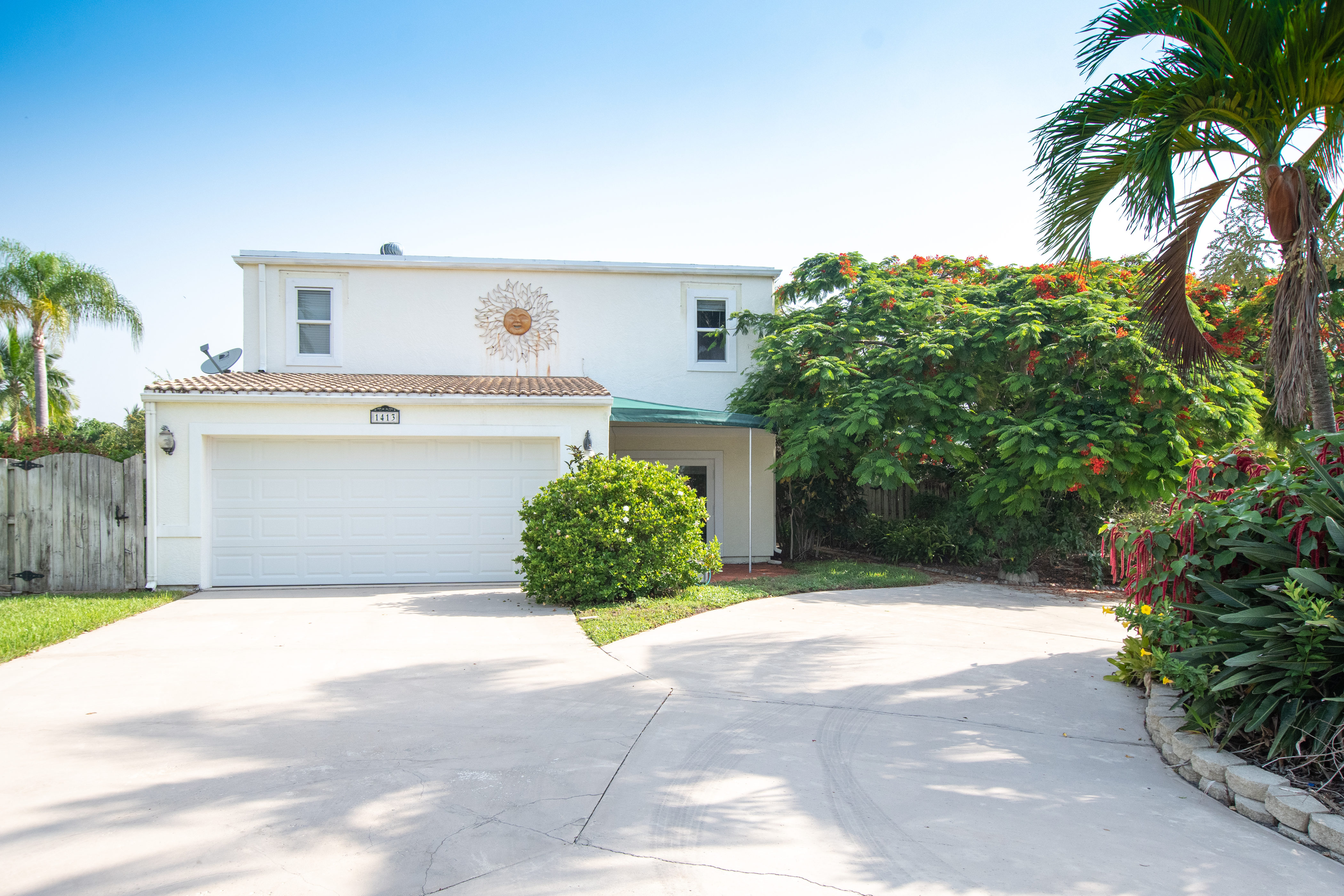 Single Family Home for sale in 1413 Mediterranean Road E, Lake Clarke Shores, Florida ,33406