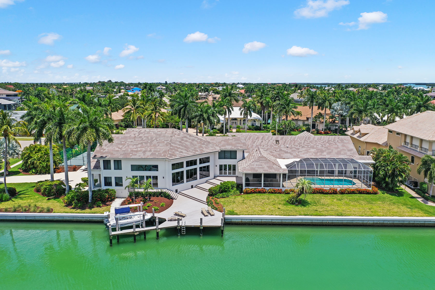 Single Family Home for sale in 850 Eubanks Court, Marco Island, Florida ,34145