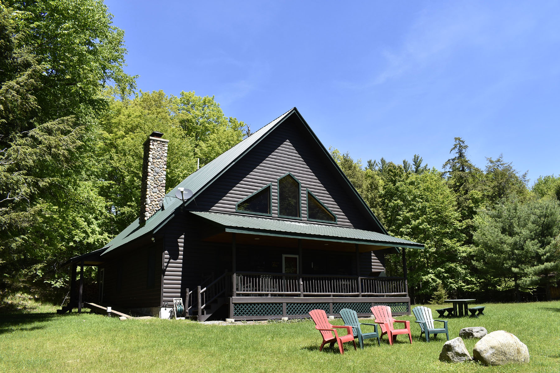 Single Family Home for sale in 1764 Long Point, Raquette Lake, NY ,13436