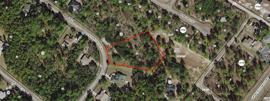 Land for sale in 5403 N Princewood Drive, Beverly Hills, Florida ,34465