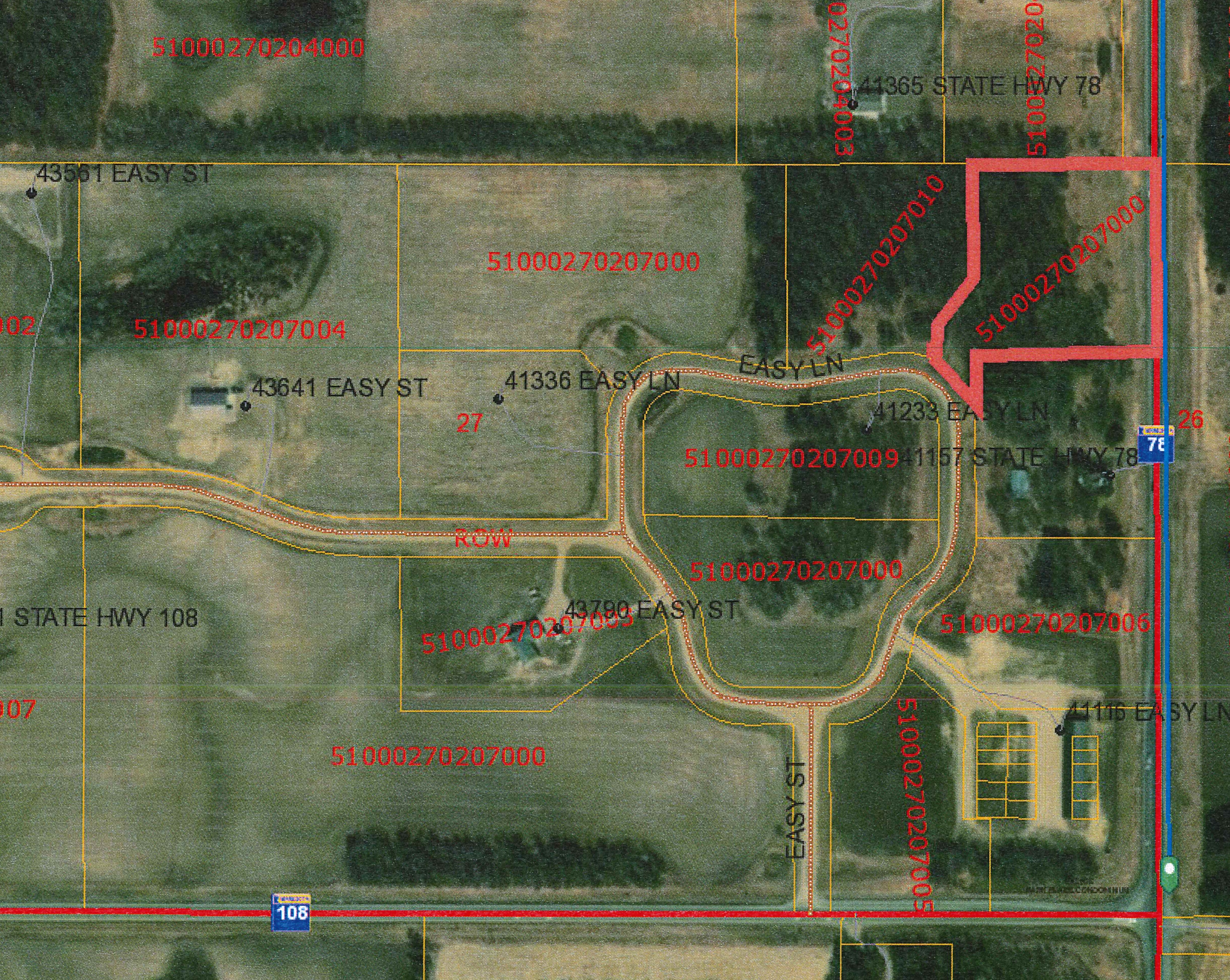 Land for sale in Lot A Easy Lane, Perham, Minnesota ,56573