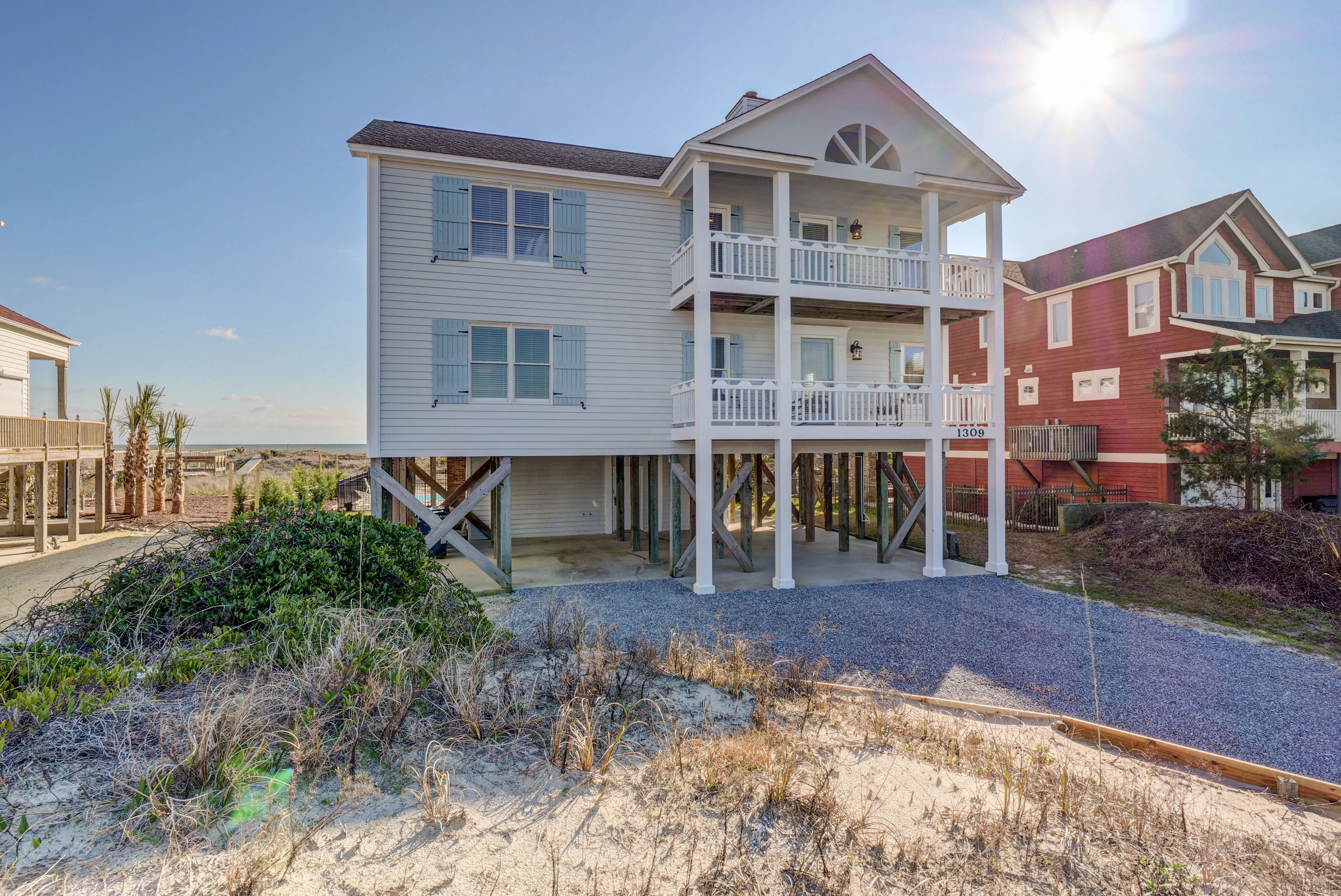 Single Family Home for sale in 1309 Ocean Blvd W, Holden Beach, NC ,28462