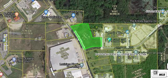 Commercial for sale in 0 Downing Pines Road, West Monroe, Louisiana ,71292