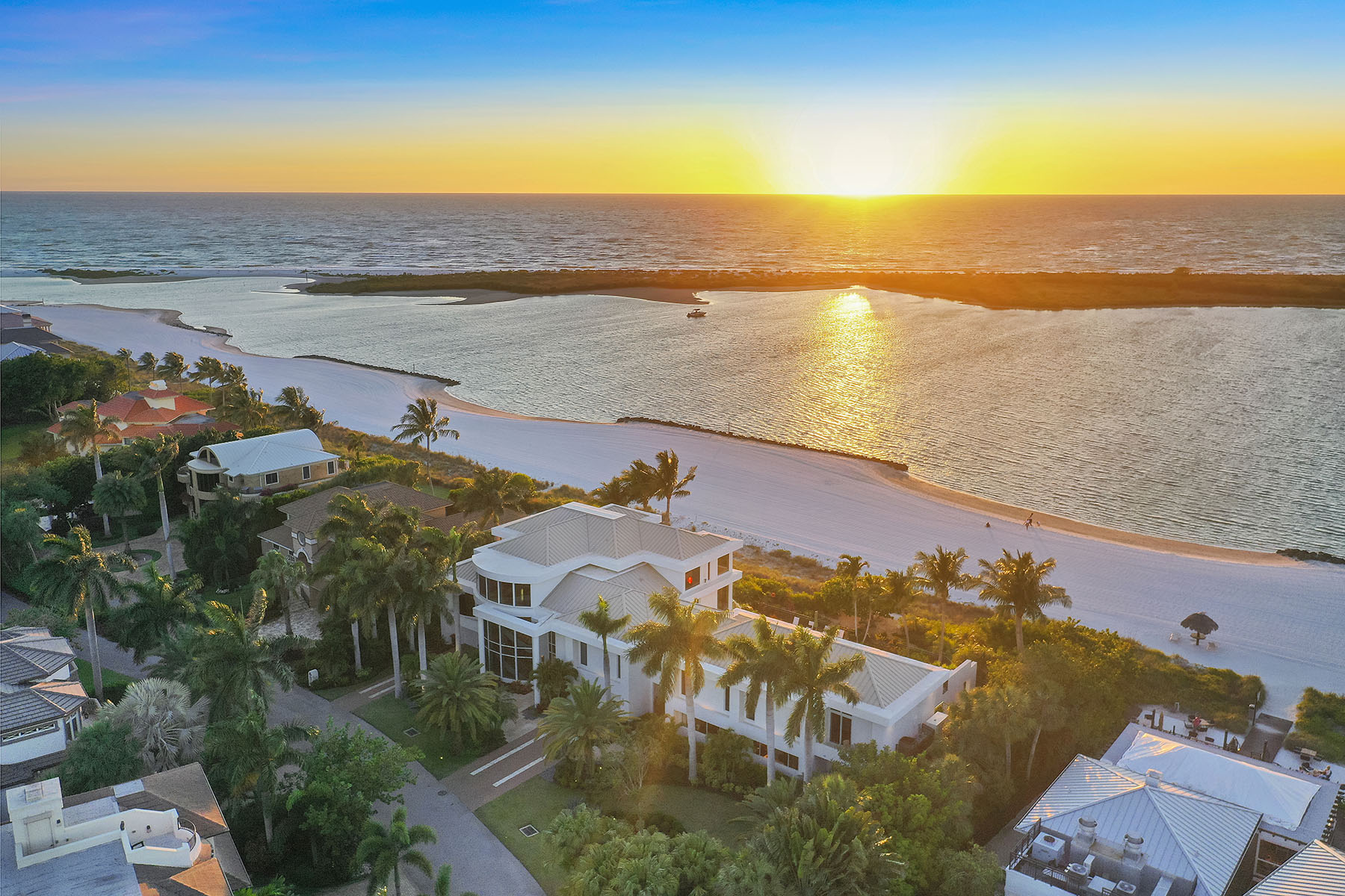 Single Family Home for sale in 202 S Beach Drive, Marco Island, Florida ,34145