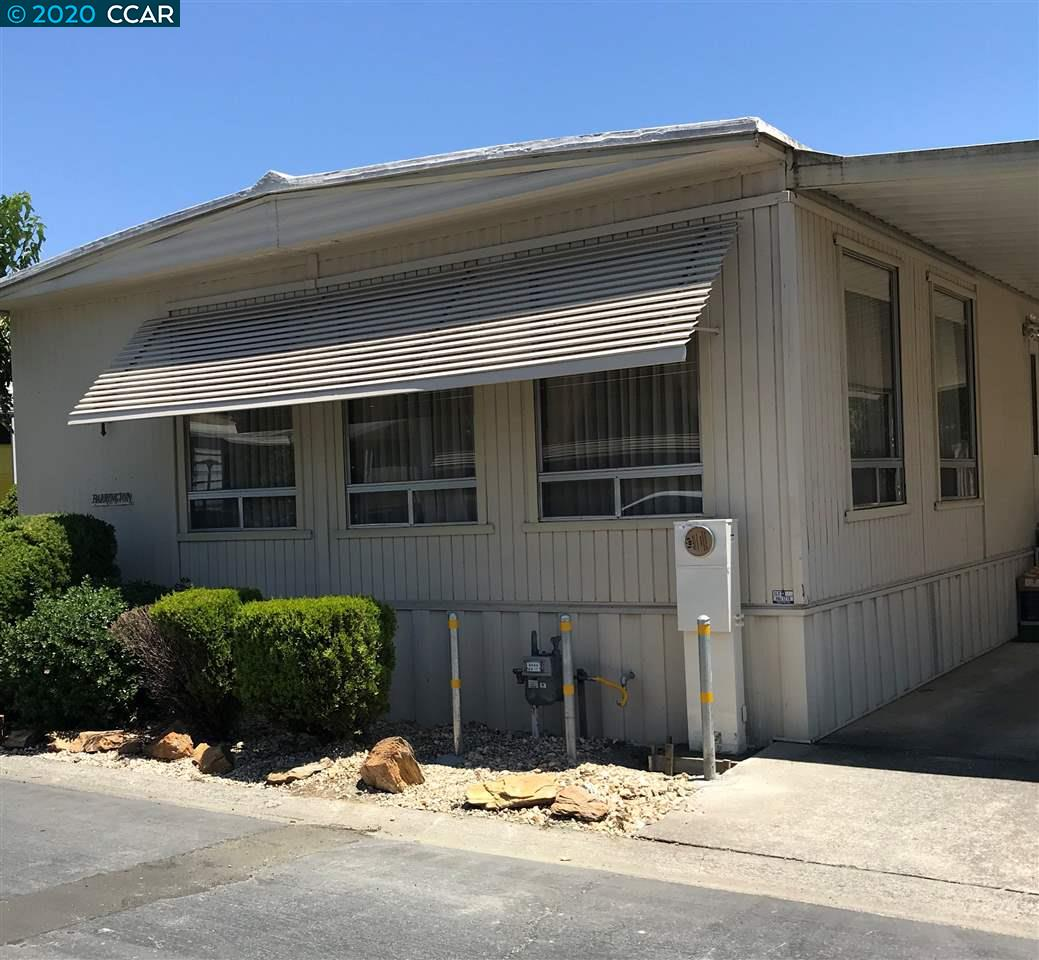 Manufactured/Mobile for sale in 61 Terrace Dr., Concord, California ,94518