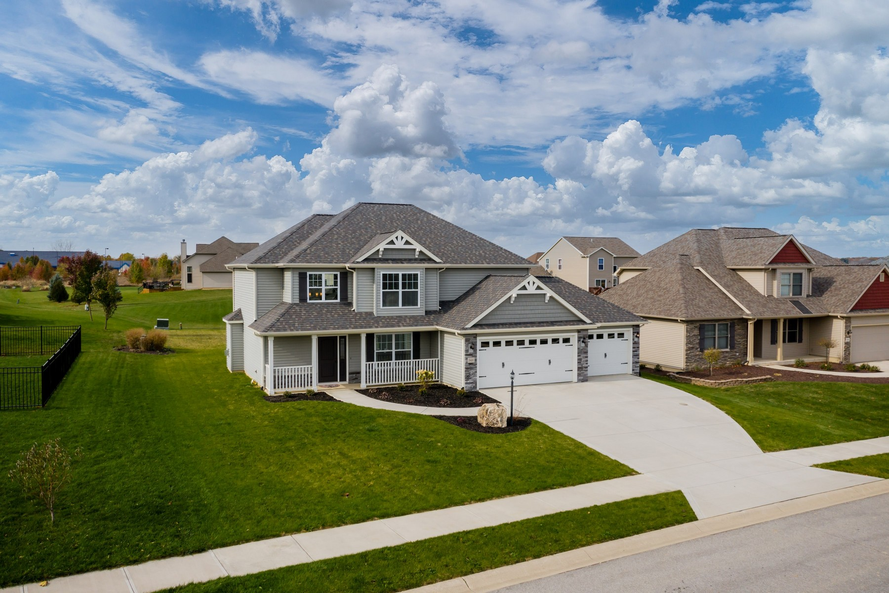 Single Family Home for sale in 9408 Prairie Meadows Drive, Roanoke, Indiana ,46783