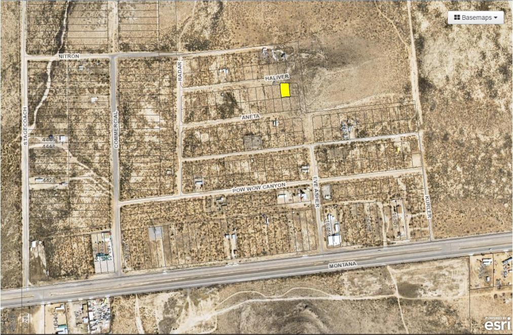 Land for sale in 23 Butterfield City #3 Lot 2, Clint, Texas ,79938