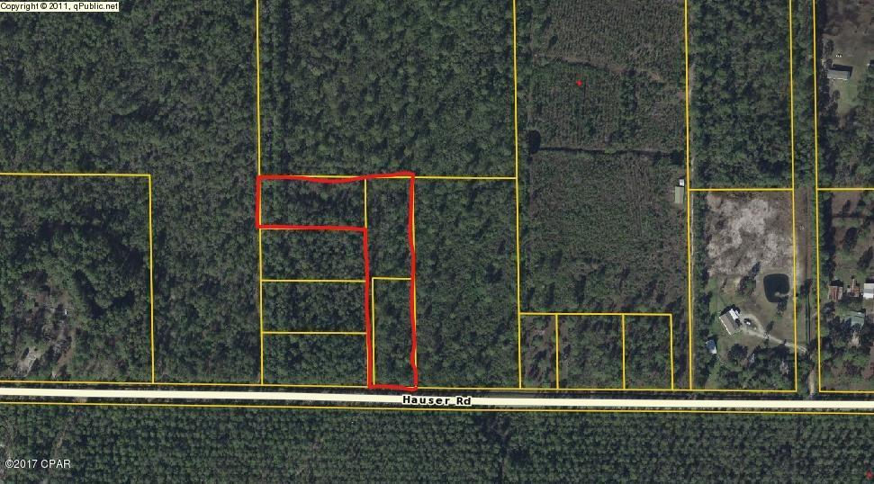 Residential Lots & Land for sale in 3 LOTS Hauser Rd, Panama City, Florida ,32404